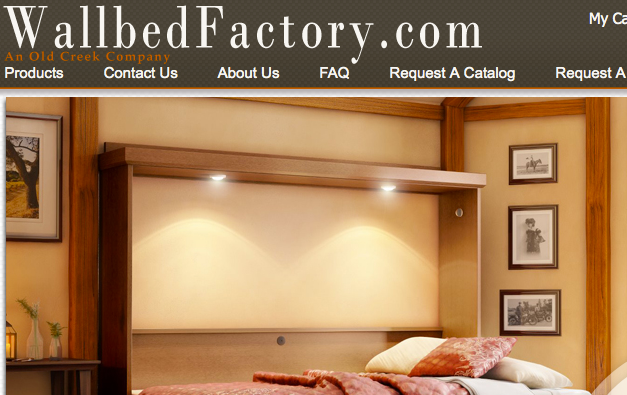 A Beautiful Murphy Bed Website