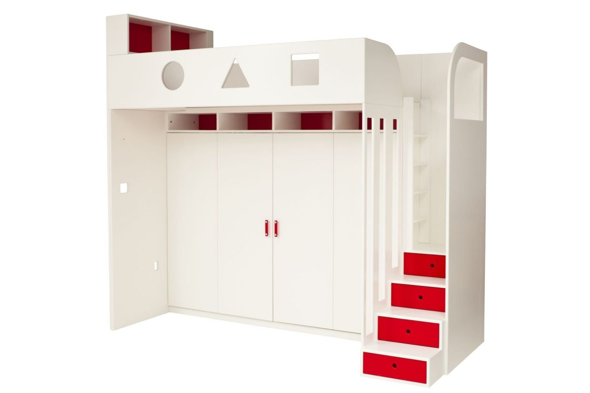 The Coolest Modern Kids Murphy Bed